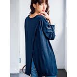 日本ANNA LUNA 預購-斜開襟前後可穿2WAY長版針織上衣(共四色/M-3L)