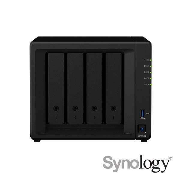 Synology DS918+  搭哪嘶狼4TB X 4