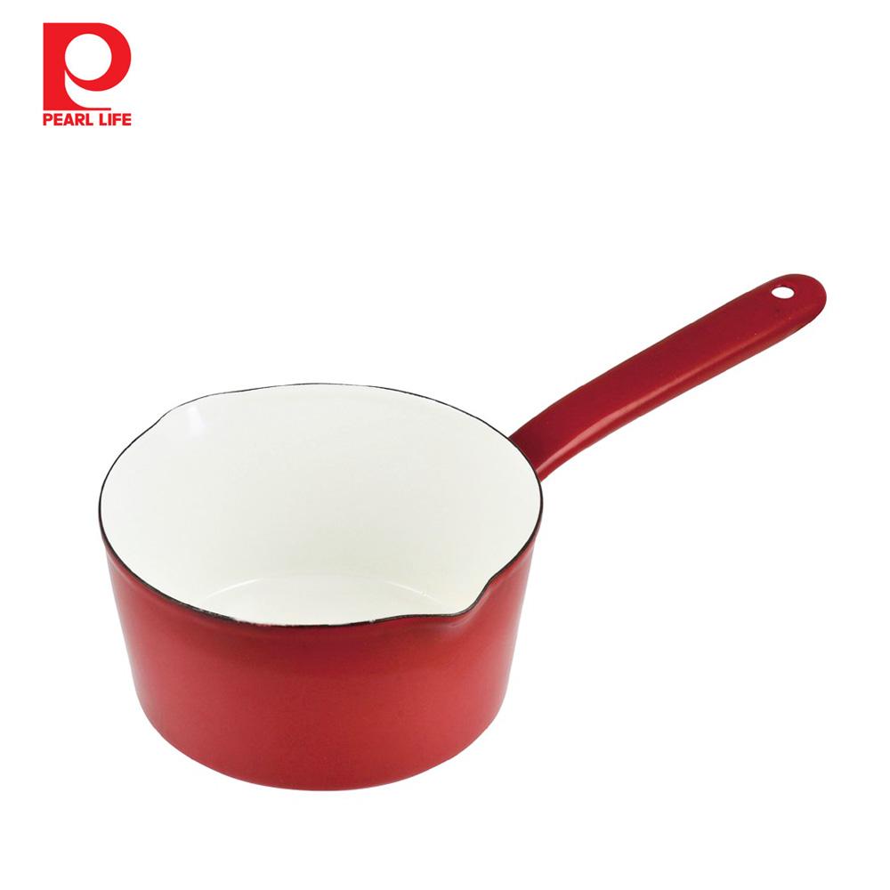 ~ 珍珠金屬~琺瑯單柄牛奶鍋