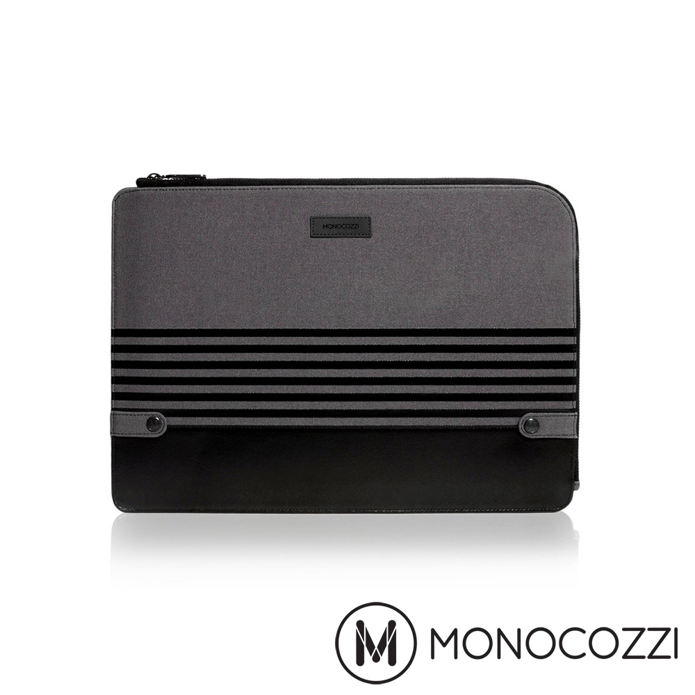 MONOCOZZI Gritty 校園系列保護套  沈穩黑  Macbook Pro 15
