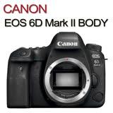 CANON EOS 6D Mark II 6D2 BODY單機身(中文平輸)贈64G記憶卡+專用電池+單眼相機包+吹球清潔組