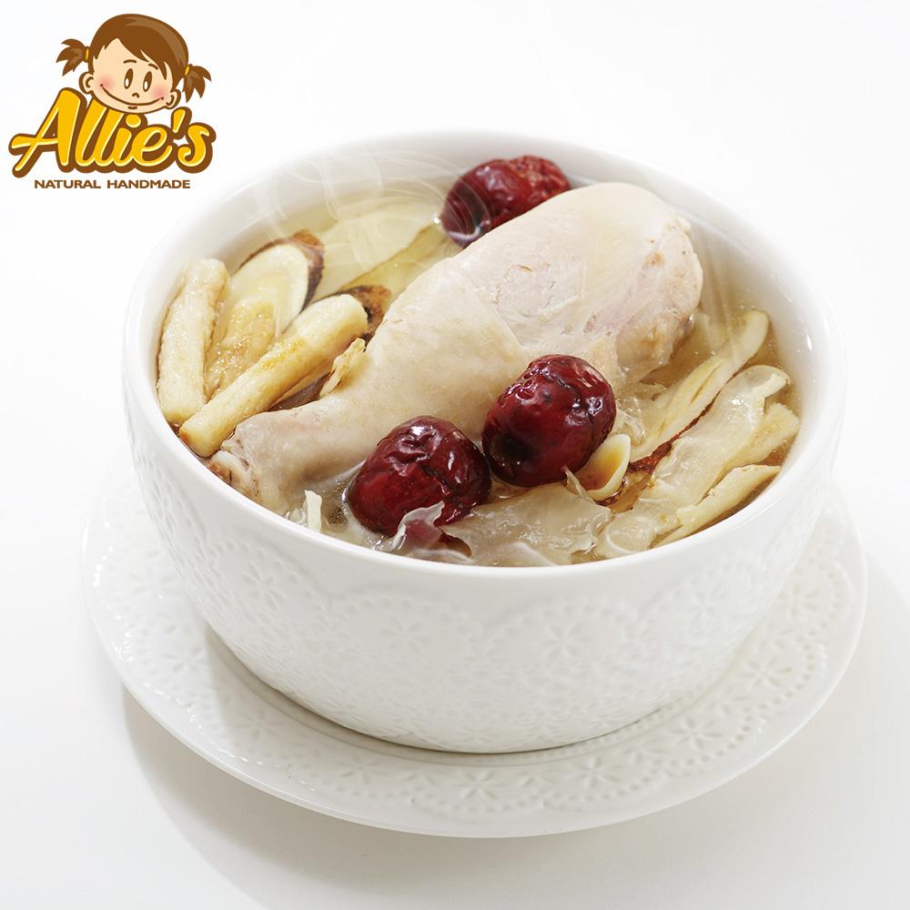 Allie's港式煲湯系列  4包玉竹銀耳雞腿湯420g/包