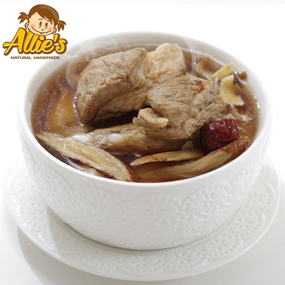Allie's港式煲湯系列  4包黃耆百合軟骨湯420g/包