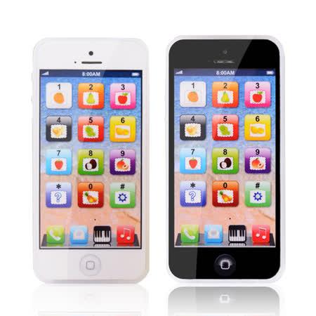 兒童音樂玩具手機 卡通玩具音樂燈光仿真學習手機