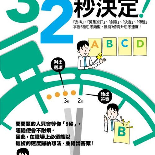 3秒思考,2秒決定!日本第一創意文具店KOKUYO員工必修的超效率思考術