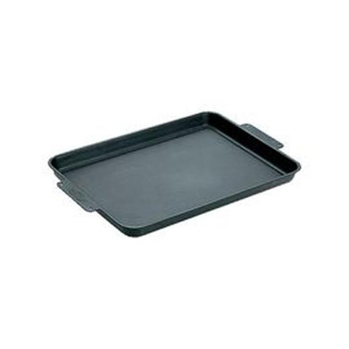 【日本 Snow Peak】經典款 萬用黑皮鐵板/鑄鐵燒烤盤(Iron Grill Plate Black ) 適焚火台/瓦斯爐/烤肉/煎牛排 GR-006