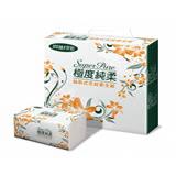 【Super Pure 極度純柔】抽取式花紋衛生紙100抽x100包/箱