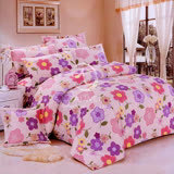 【向陽山花】雙人四件式被套床包組
