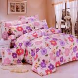 【向陽山花】雙人四件式二用被床包組