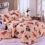 【明媚花顏】加大四件式二用被床包組