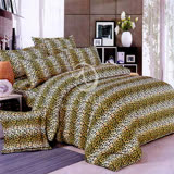 【豹紋雄風】雙人四件式二用被床包組