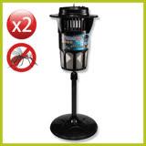 巧福 吸入式捕蚊燈大型 2台 UC-850HE 送捕蚊器燈管4支