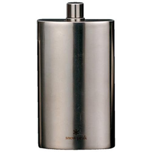 【日本 Snow Peak】 SP鈦金屬方形酒壺-L170 (Snow Peak Titanium Flask L)酒瓶.水瓶.水壺.戶外登山露營 T-013