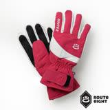 Route8 KORUS PRIMALOFT防水保暖手套 (絢麗紅)