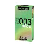 ((任選))《岡本okamoto》003 Aloe極薄蘆薈(6入/盒)