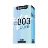 ((任選))《岡本okamoto》003 Cool冰炫極薄(6片/盒)
