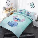 【史迪奇】迪士尼卡通床包兩用被套組-單人