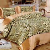 【經典氣派】雙人絲緞四件式二用被床包組
