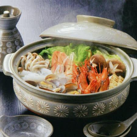 日本製銀峰花三島 耐熱砂鍋2-3人份