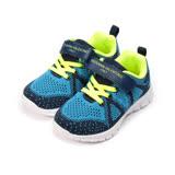 (中大童) GIOVANNI VALENTINO 飛織運動鞋 藍 童鞋 鞋全家福
