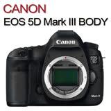 CANON EOS 5D Mark III 5D3 BODY單機身(公司貨)贈吹球清潔組