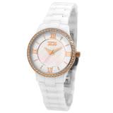 NATURALLY JOJO 秘密花園羅馬陶瓷腕錶-JO96880-81R