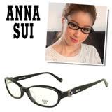 Anna Sui 安娜蘇 浪漫蝴蝶鑲圓珠蕾絲光學眼鏡 - 三色 - AS545