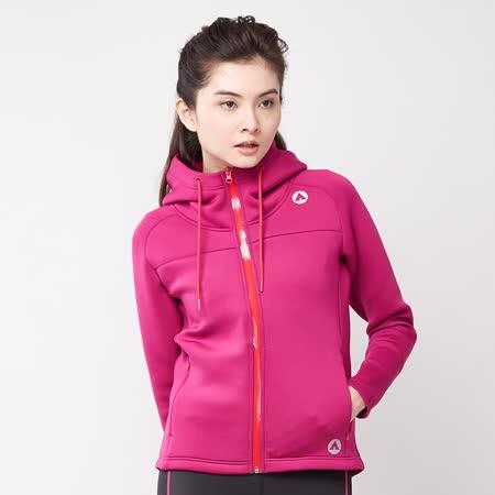 【美國 AIRWALK】太空棉連帽外套-女(紫色) -friDay購物