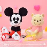 【SEGA】日版 Disney迪士尼 景品 小熊維尼 絨毛娃娃 造型後背包 B款