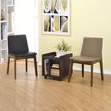 【空間生活】精選商品-法蝶實木餐椅2入組/學生椅/書桌椅