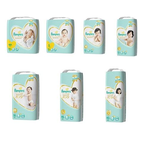【幫寶適】五星一級幫日本境內增量版3包裝 - 黏貼/褲型