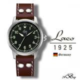 朗坤 Laco 德國進口 OSAKA 自動機械表 女錶 軍錶 861798