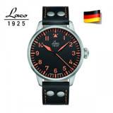 朗坤 Laco 德國進口 Neapel 軍事風格機械錶 軍錶 男錶 861965