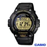 CASIO卡西歐 戶外休閒運動風格太陽能男錶 W-S220-9A