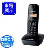 《Panasonic》 DECT國際牌數位式無線電話 KX-TG1611 (曜石黑)