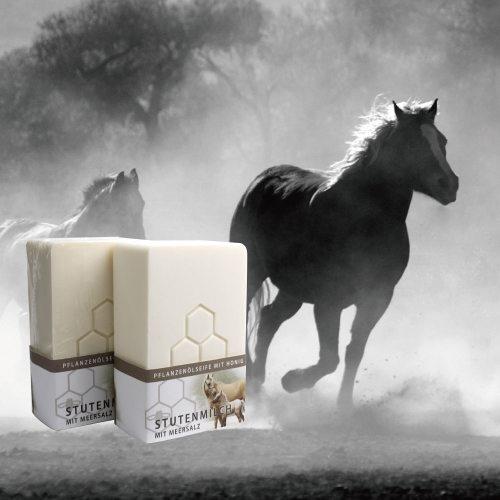 蜂蜜馬奶潔膚皂