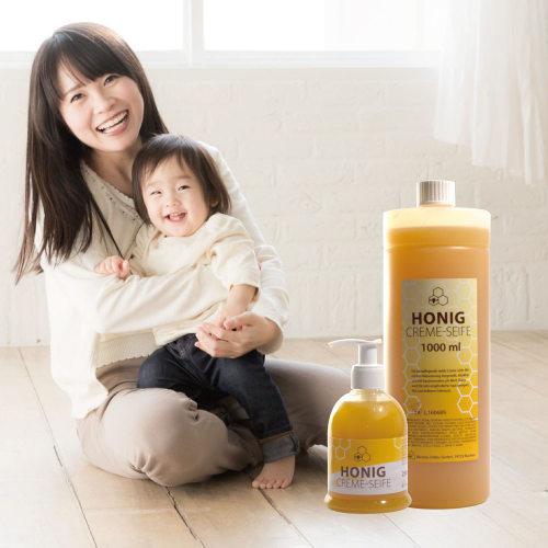 全家人的液體香皂,蜂蜜溫和液體皂組合