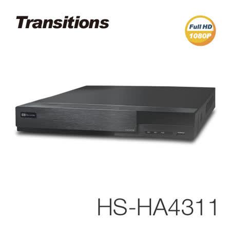 【全視線】4路監視監控錄影主機+LED紅外線攝影機(HS-HA4311+MB-AHD872H-4×2)
