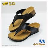 【G.P 休閒個性柏肯鞋】W783-10 黑色 (SIZE:35-39 共二色)