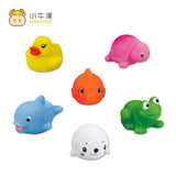 【小牛津】寶寶洗澎澎玩具6入組(噴水、發光、有聲音~最佳洗澡玩具)