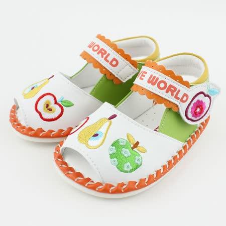 愛的世界 水果百匯寶寶鞋/學步鞋
