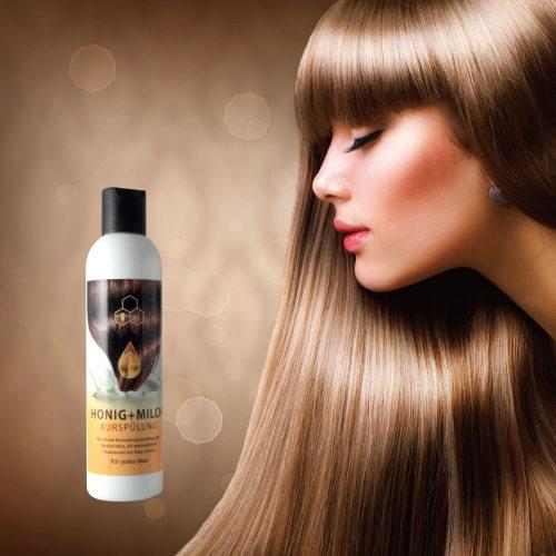 蜂蜜奶蛋白護髮潤絲乳