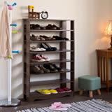 赫斯提亞加藤開放式七層鞋櫃