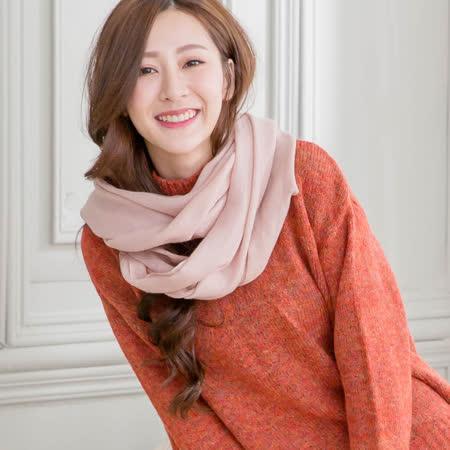 Wonderland  純色100%羊毛披肩