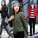 【韓國KW】(預購) 2XL~3L韓系時尚俐落剪裁修身保暖羽絨外套