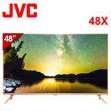 【JVC】 48吋 4K UHD智慧聯網液晶顯示器(視訊盒另購)(48X)*送膳魔師保溫瓶+HDMI線