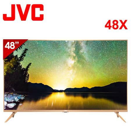 JVC 48吋 4K UHD 智慧聯網液晶顯示器