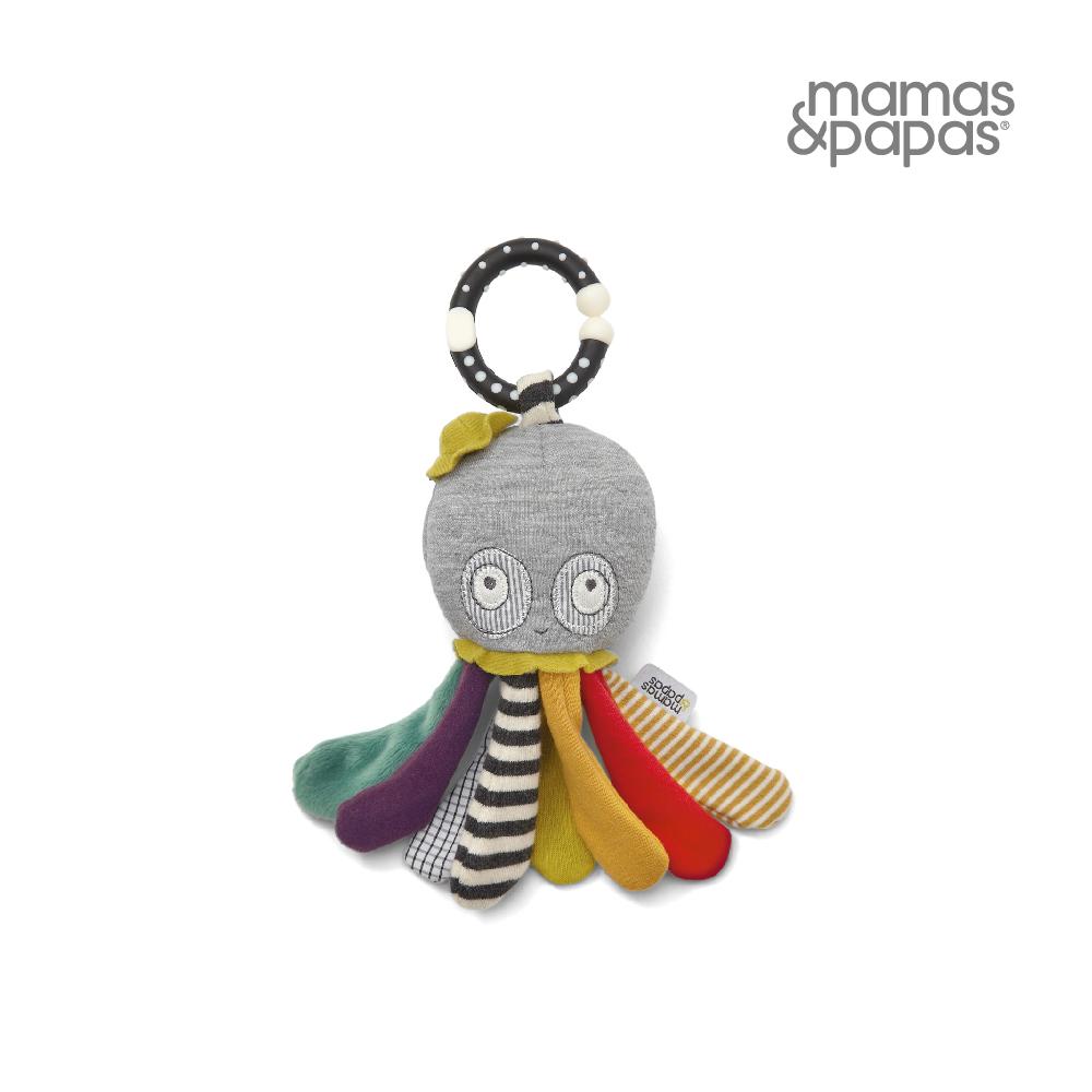 【Mamas & Papas】小隻的襪子章魚(搖鈴吊飾玩偶)
