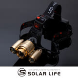 【Solar】旗艦款T6三頭強力變焦頭燈