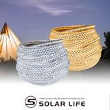 【Solar】戶外露營必備 頂級5730防水LED超亮燈條5M(黃/白二色)